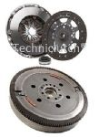 LUK DUAL MASS FLYWHEEL DMF & COMPLETE CLUTCH KIT CITROEN C5